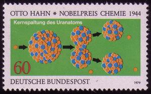1020 Nobelpreisträger Physik Hahn  **