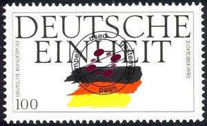 1478 Deutsche Einheit 100 Pf O