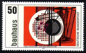 1164 Bauhaus Laszlo Moholy-Nagy 50 Pf O