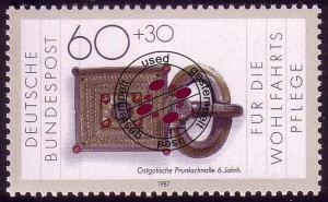 1334 Wohlfahrt Schmiedekunst 60+30 Pf O