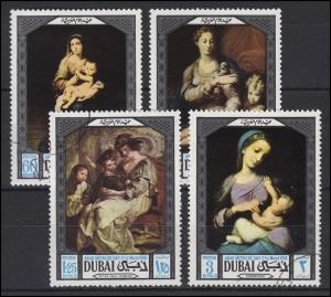 Dubai: Gemälde Paintings Muttertag Arab Mothers Day 1969, Satz O