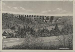 Ansichtskarte Göltzschtalbrücke, Zittau/Erkältungskrankheiten 7.10.1960