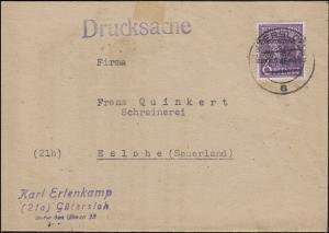 37I Band Drucksache GÜTERSLOH 27.7.1948 - Leimangebot nach der Währungsreform