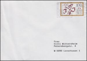 1612 Adam Riese auf Brief Annaberg-Buchholz Adam Ries Festwoche Juli 1992