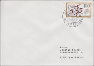 1612 Adam Riese, EF Brief SSt Staffelstein Adam-Riese-Stadt 8.5.92