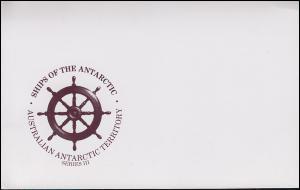 Australisches Antarktis-Territorium Ships / Schiffe Series III im Folder 1981