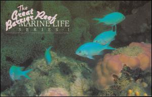 Australien Meereslebewesen Meerestiere Serie I mit 879-884 Satz 1984 im Folder