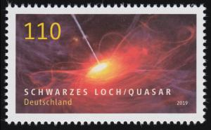 3477 Astrophysik - Schwarzes Loch / Quasar, ** postfrisch