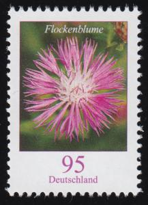 3470 Blume Flockenblume, nassklebend, ** postfrisch