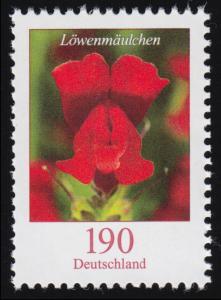 3474 Blume Löwenmäulchen, ** postfrisch