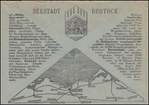 AFS Rat der Seestadt Rostock Polizeiamt 28.8.34 - Universitätsstadt auf R-Brief