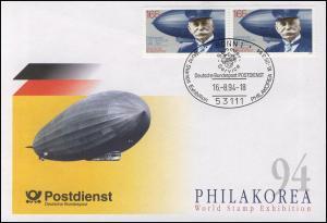 Ausstellungsbeleg Nr. 1 Philkorea 1994, ohne Cachet-O