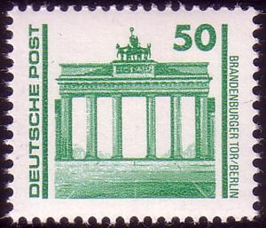 3346 Bauwerke und Denkmäler 50 Pf Brandenburger Tor **