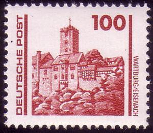 3350 Bauwerke und Denkmäler 100 Pf Wartburg **