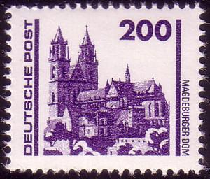 3351 Bauwerke und Denkmäler 200 Pf Dom Magdeburg **