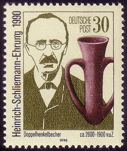 3364 Heinrich Schliemann 30 Pf ** 0