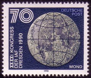 3362 Astronautische Föderation 70 Pf Mond **