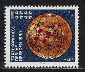 3363 Astronautische Föderation 100 Pf Mars O