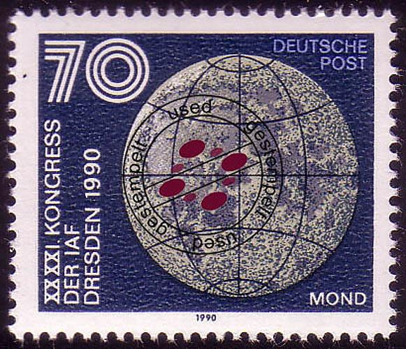 3362 Astronautische Föderation 70 Pf Mond O 0