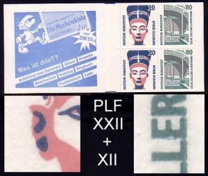 28a mit SWK PLF XXII + XII, Felder 1 und 4, **