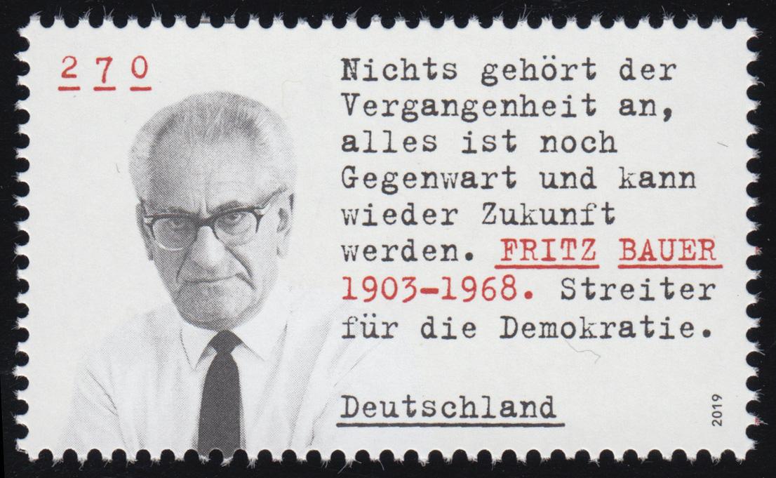 3502 Fritz Bauer, ** postfrisch 0