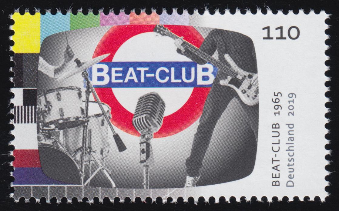 3503 Fernsehlegende Beat Club, ** postfrisch 0