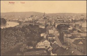 Ansichtskarte Ratibor Total, RATIBOR 9.1.1913 nach Osterorde am Harz