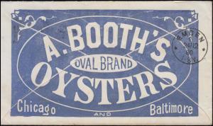 USA Umschlag 3 C. grün mit Zsastzfranka. 43, CHICAGO 7.12.1880 nach EMDEN 24.12.