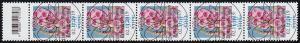 3501 Fingerhut 370 Cent, 5er-Streifen mit Codierfeld, ESSt Bonn 2.11.2019