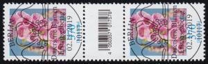 3501 Fingerhut 370 Cent, Paar mit Nummer, mit CF, ohne Nummer, ESSt Berlin