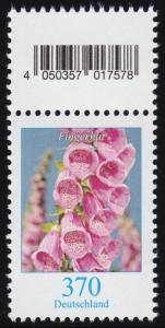 3501 Fingerhut 370 Cent, Marke mit Codierfeld ** postfrisch