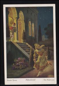 Künstler-Ansichtskarte Otto Kubel: Brüder Grimm Aschenbrödel / Nr. 4, 1934