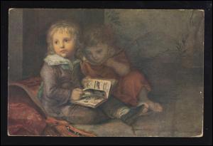 Künstler-Ansichtskarte C.L. Vogel: Die Söhne des Meisters, ungebraucht *