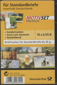 MOTIVSET für Briefe/Deutschland 2007 (10 x 0,55) **