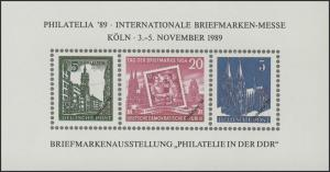 APHV-Sonderdruck Philatelia Köln DDR-Philatelie 1989