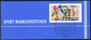 Sport 1989 Volleyball 100 Pf, 6x836, ESSt Berlin