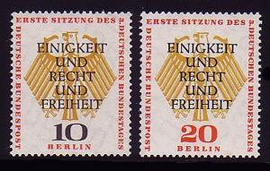 174-175 Deutscher Bundestag 1957 - Satz **