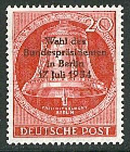 118 Bundespräsidentenwahl 1954 - Marke **