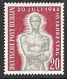 119 Gedenken an den 20. Juli 1944 - Marke postfrisch **