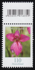 3471 Wild-Gladiole 110 Cent, mit Codierfeld **