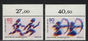 596-597 Sporthilfe 1979, Oberrand, Satz **