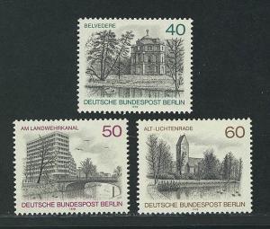 578-580 Berlin-Ansichten 1978, Satz **