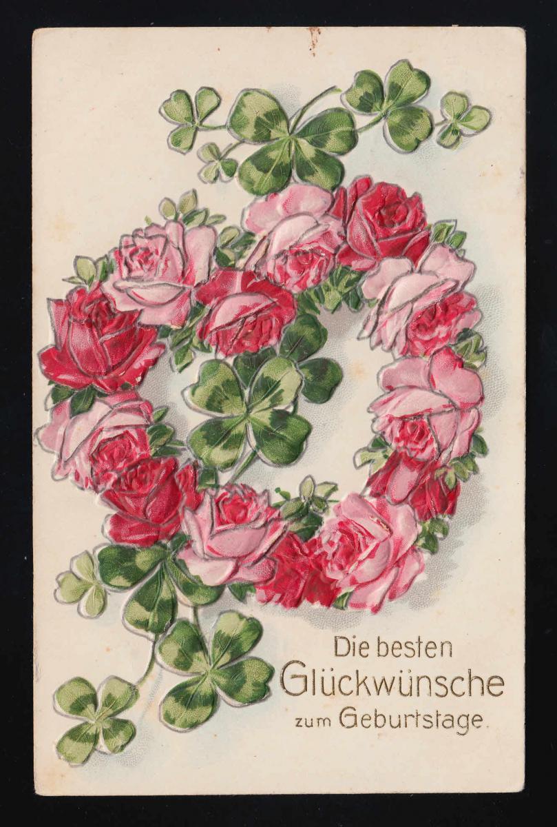 Zum rote geburtstag rosen Geburtstagswünsche Rosen,