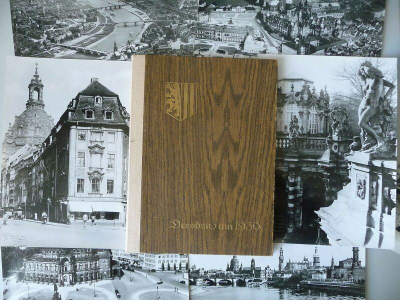 Dresden um 1930 18 Foto-Reproduktionen in Mappe 1978