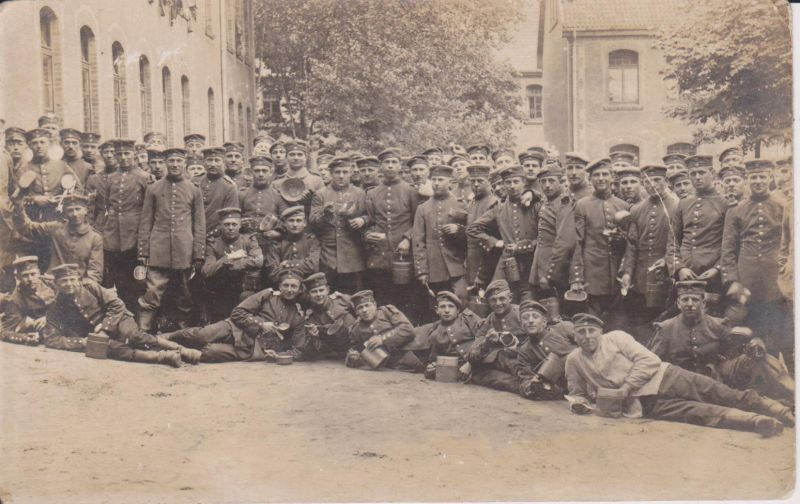 Orig. Foto Gruppenbild Soldaten Truppe WKI