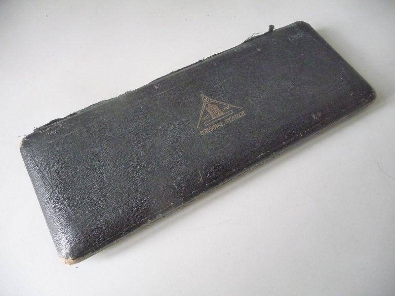 Antikes Reißzeug Zirkelkasten Oiginal Starck 14 Teile