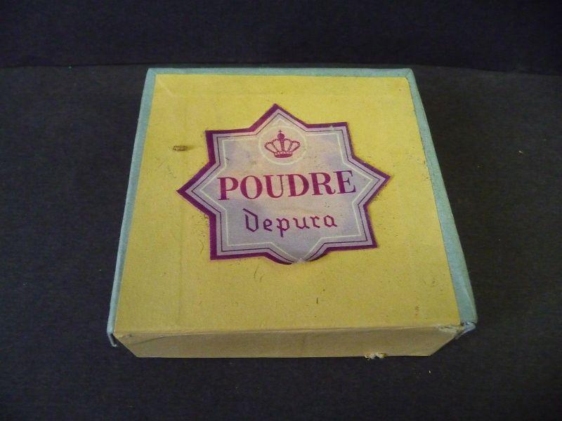 Alte Pappschachtel Reklame Kosmetik