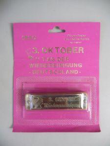 Mundharmonika Sonderedition Wiedervereingung / Klingenthal Harmonika GmbH 1990