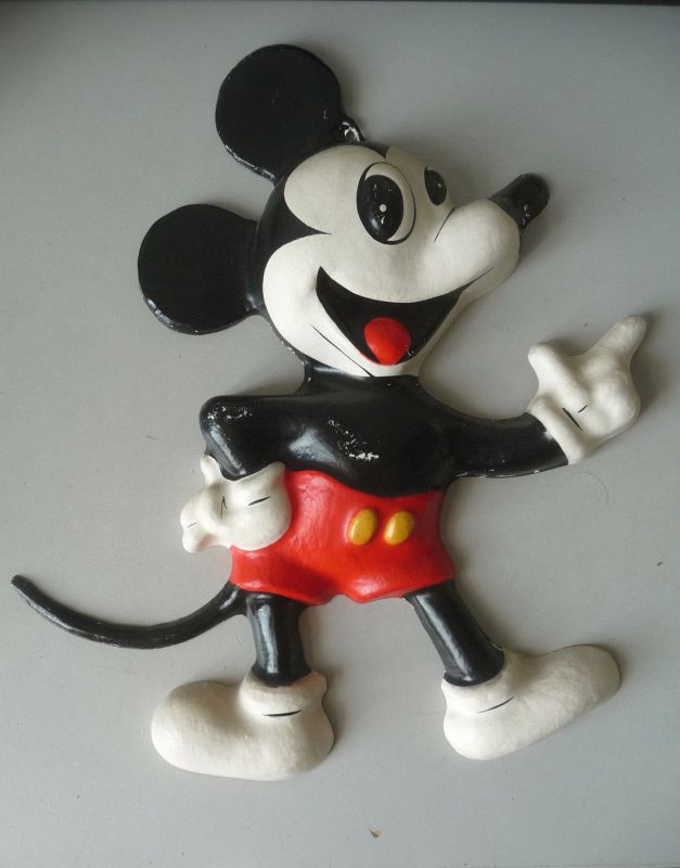 Wandfigur Micky Maus / Mickey Mouse 32 cm