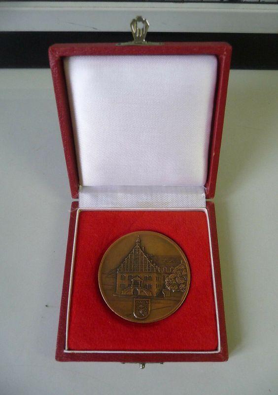 Medaille Ehrenplakette VEB Vowetex Plauen im Etui